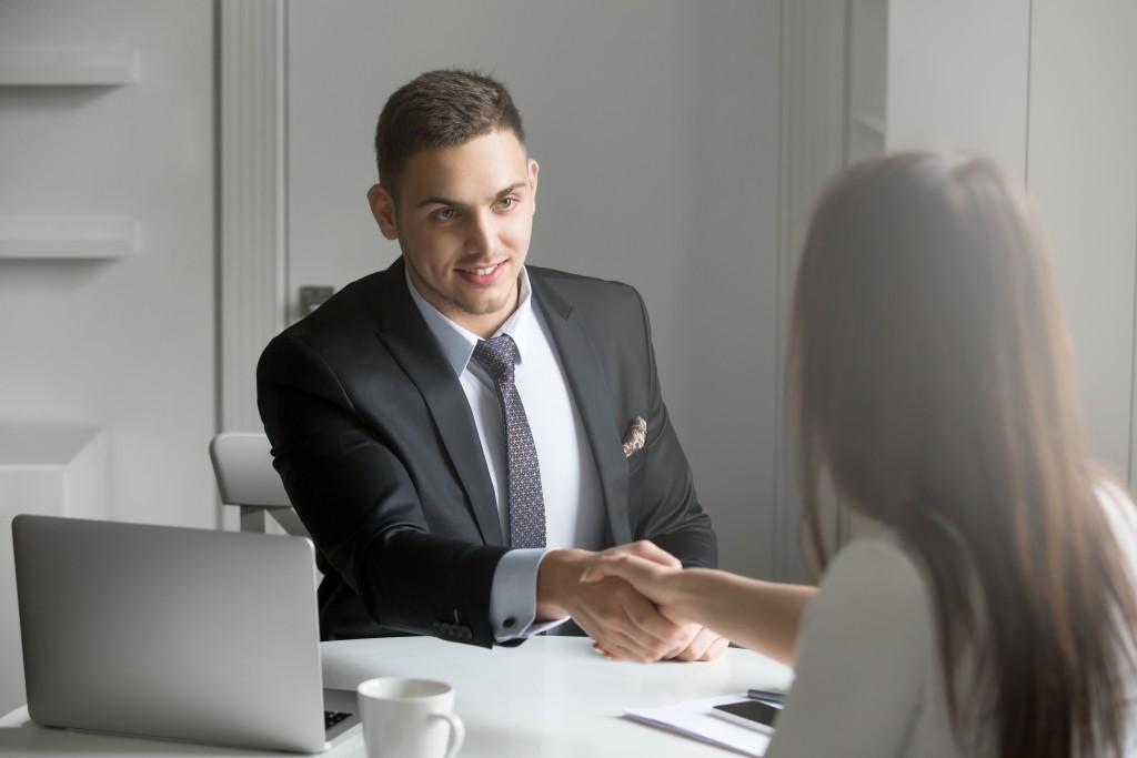 HR Interviewing a Candidate
