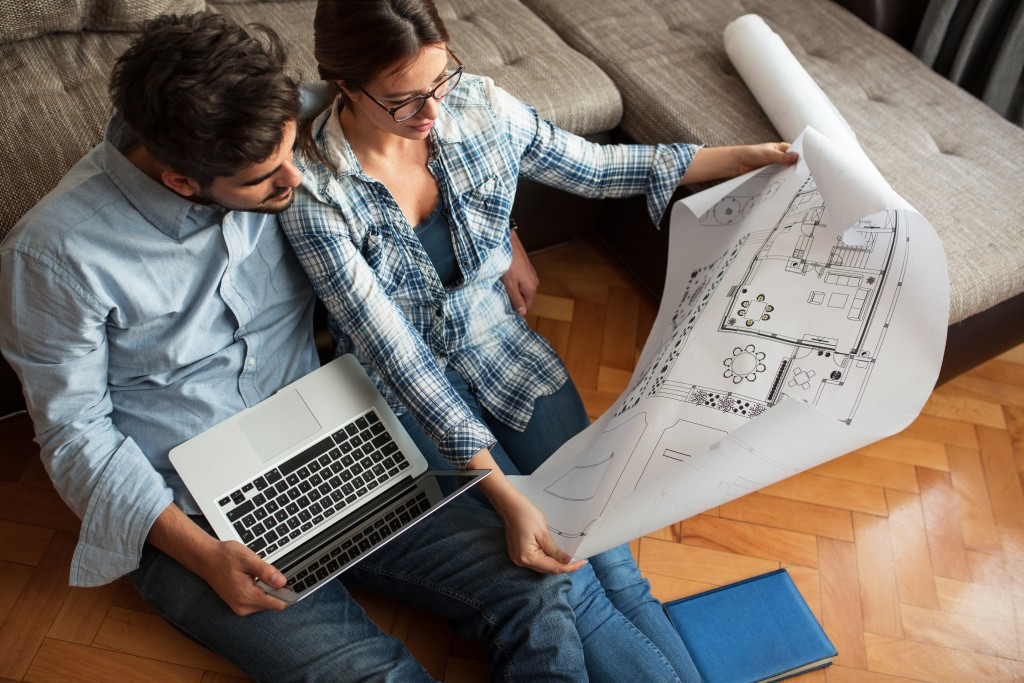 Couple planning on buying house