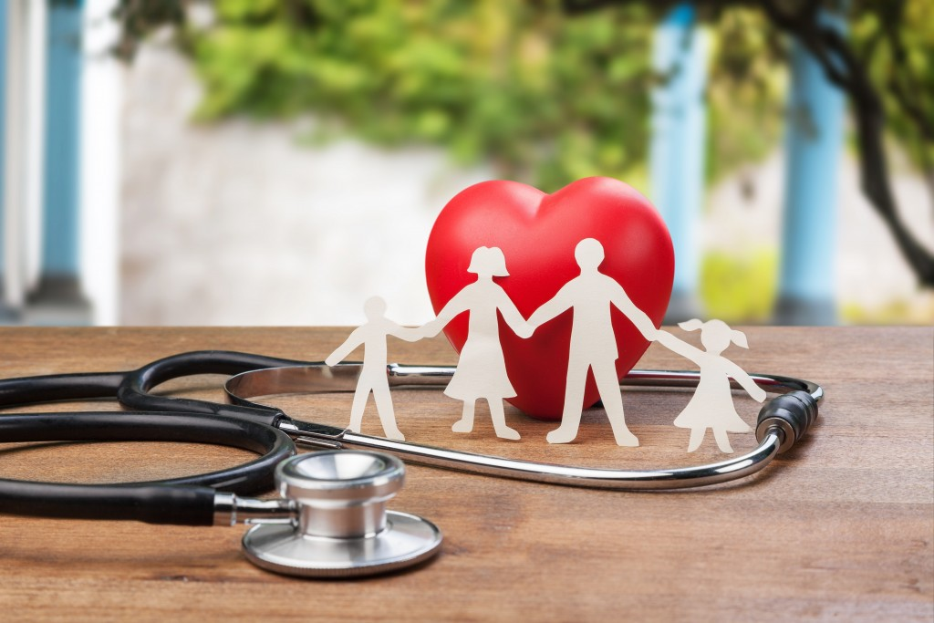 Medicare Insurance concept stethoscope