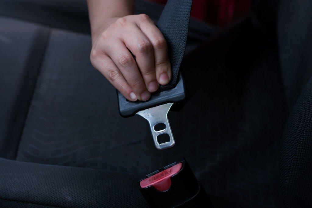 car seatbelt