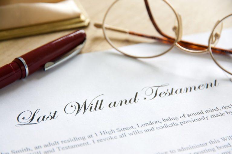 written last will and testament