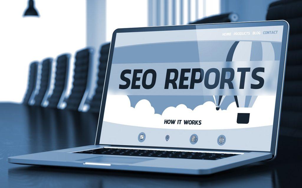 seo reports concept