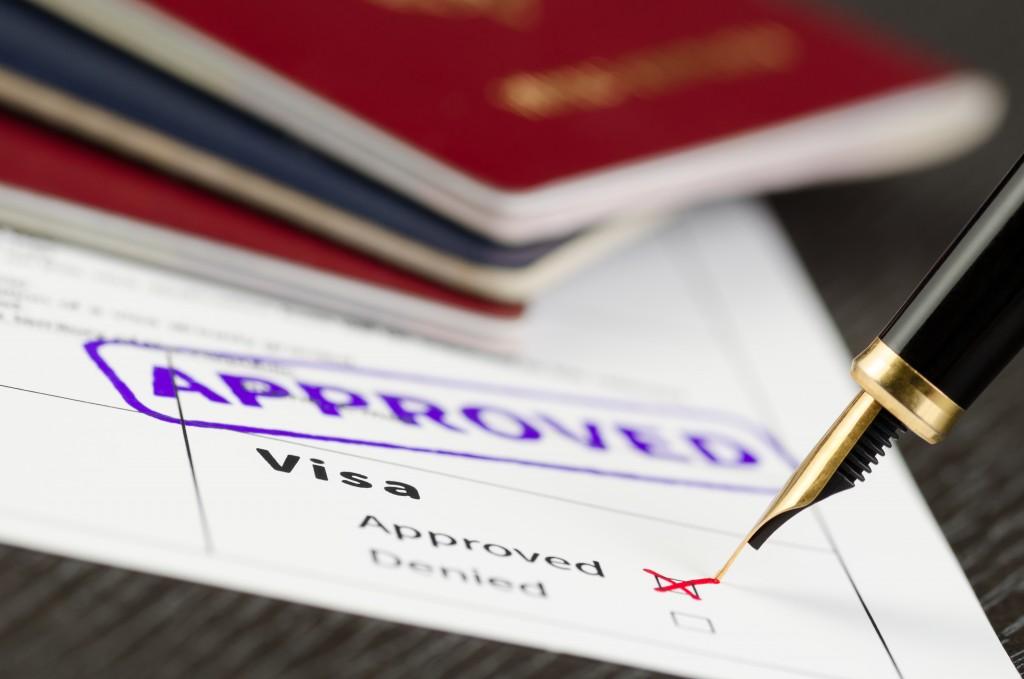 approved visa